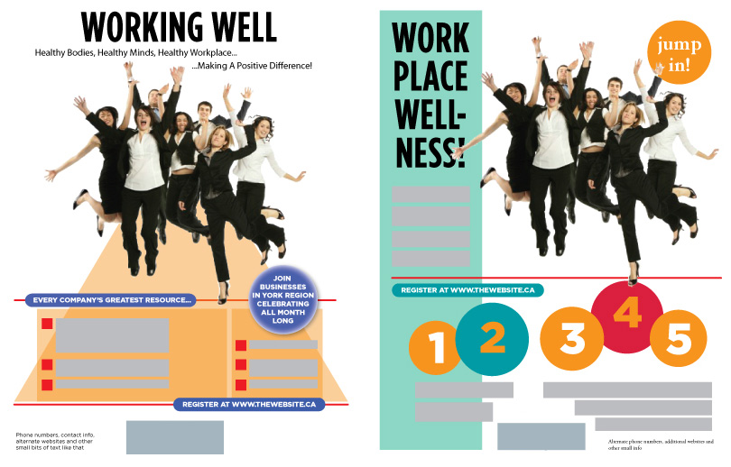 Workplace Poster Two Versions